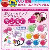 サン宝石 ボリュームアップヘアゴム(100個入り)