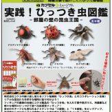 カプセルQミュージアム 実践!ひっつき虫図鑑 -部屋の壁の昆虫王国-(50個入り)