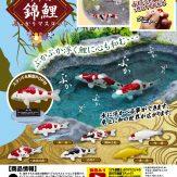 リアル錦鯉ぷっかりマスコット(40個入り)