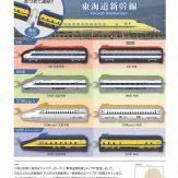 東海道新幹線 あつめて連結!新幹線ファスナーポーチ(40個入り)