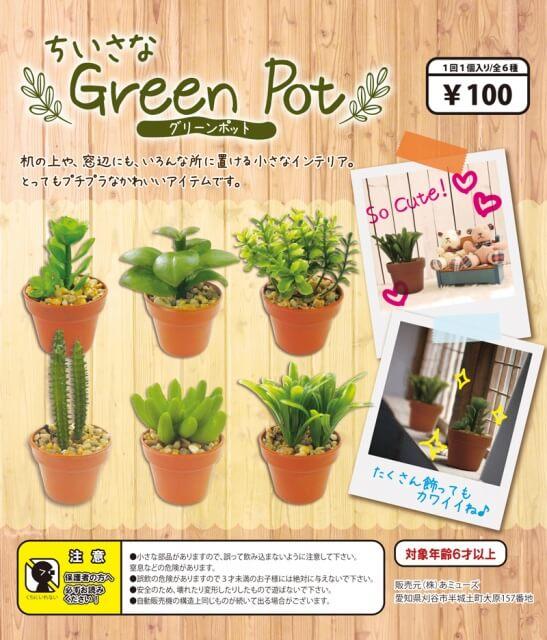 ちいさなGreen Pot(100個入り)