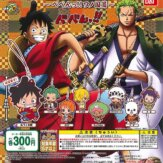 From TV animation ONE PIECEカプセルラバーマスコット ~べべんっ!!ワノ国篇~(40個入り)