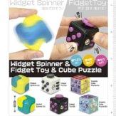 コロコロコレクションWidget Spinner & Fidget Toy & Cube Puzzle(50個入り)