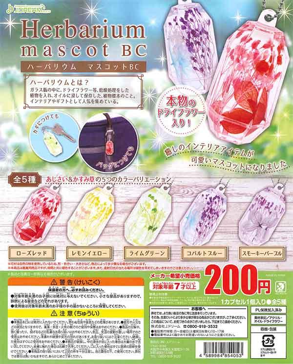 ハーバリウムマスコットBC(50個入り)