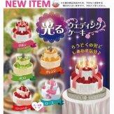 光るウェディングケーキ(40個入り)