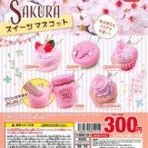SAKURA スイーツマスコット(40個入り)