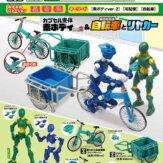 カプセル素体 素ボディver.2&折りたたみ自転車とリヤカー(40個入り)