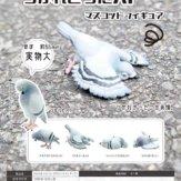 つかれきったハト マスコットフィギュア(40個入り)