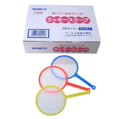 使い捨てすくい枠 ラッキースクープ[6号](標準)(100入)