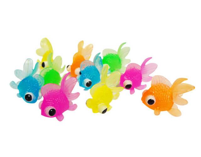 カラフルすくい出目金魚(100個入り)