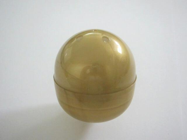 48mm空カプセル ゴールド(50個入り)