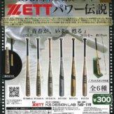 硬式野球用金属製バット ZETT パワー伝説(40個入り)