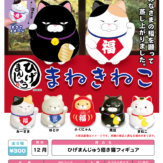 ひげまんじゅう招き猫フィギュア(40個入り)