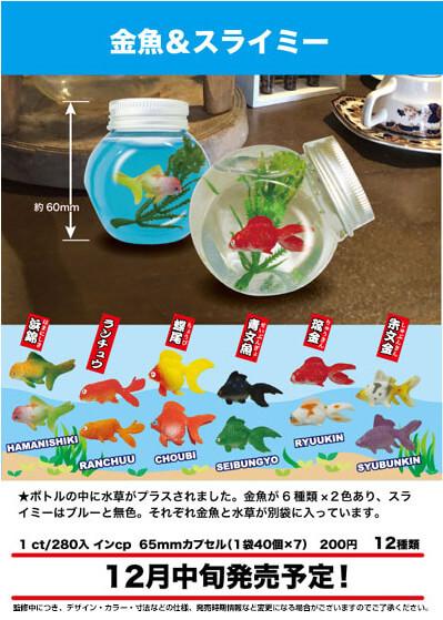 金魚&スライミー(50個入り)