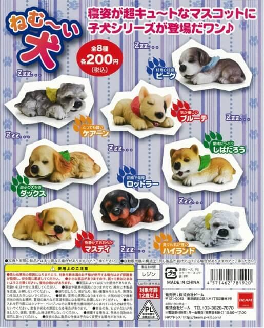 ねむ~い犬(50個入り)