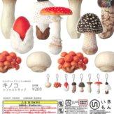 ネイチャーテクニカラー MONO キノコ ソフトストラップ(50個入り)