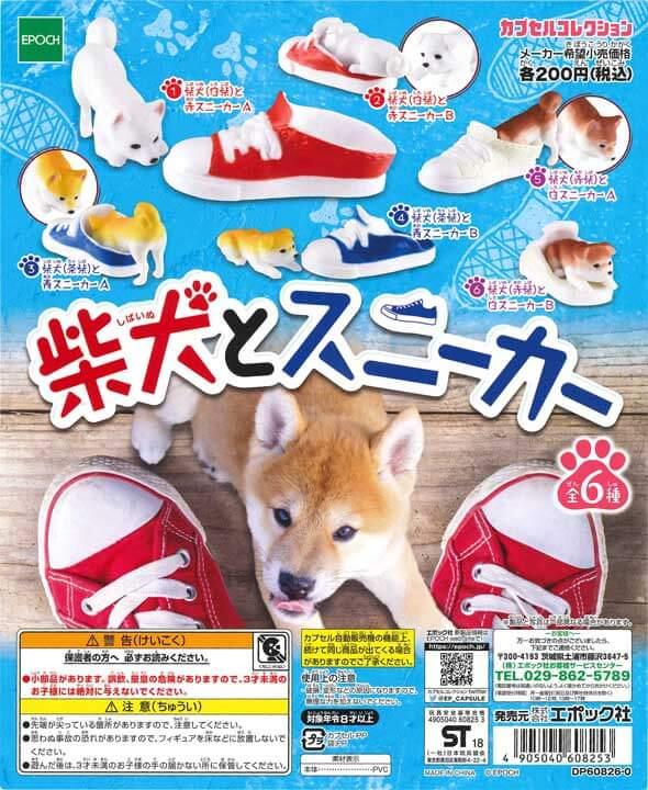 柴犬とスニーカー(50個入り)