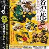 カプセルQミュージアム『若冲の花 伊藤若冲・花卉立体図』(30個入り)