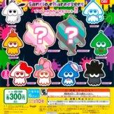 スプラトゥーン2×サンリオキャラクターズ スペシャルラバーマスコット2 ~イカしたアイコン~(40個入り)