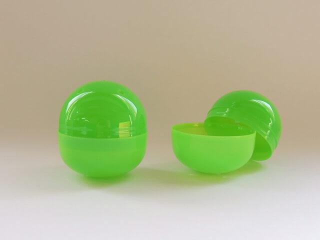 65mm空カプセル 緑[不透明](500個入り)